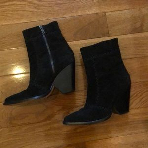 Spell Zephyr black suede boots
